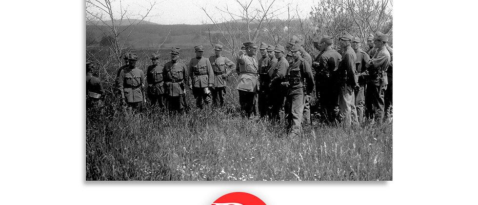 Soldati durante un'esercitazione anno 1928 c.a.
