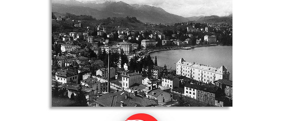 Lugano panorama anno 1948 c.a.