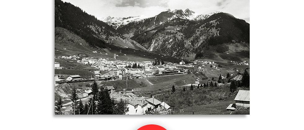 Airolo panorama anno 1950 c.a.