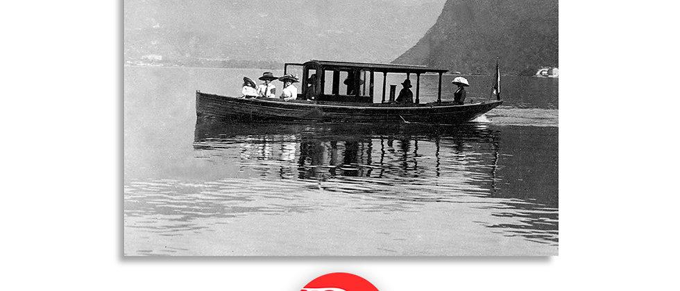 Lugano gita in barca anno 1901 c.a.