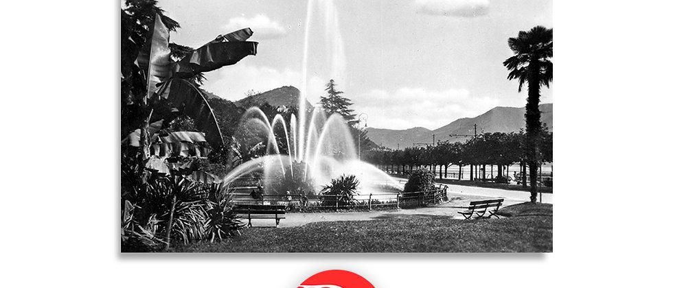 Lugano piazza Manzoni anno 1930 c.a.