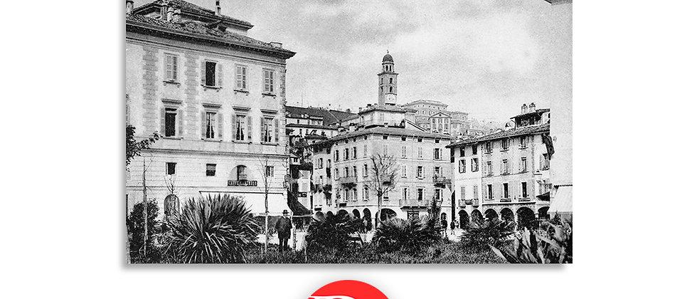 Lugano piazza Riforma primi '900
