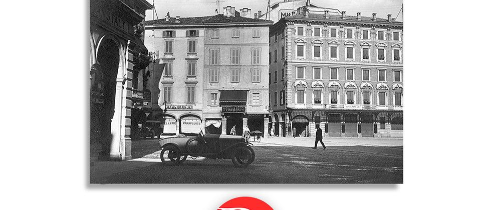 Lugano piazza Riforma anno 1930 c.a.
