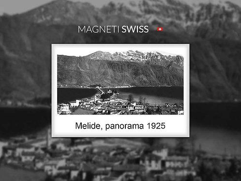 Melide, panorama 1925