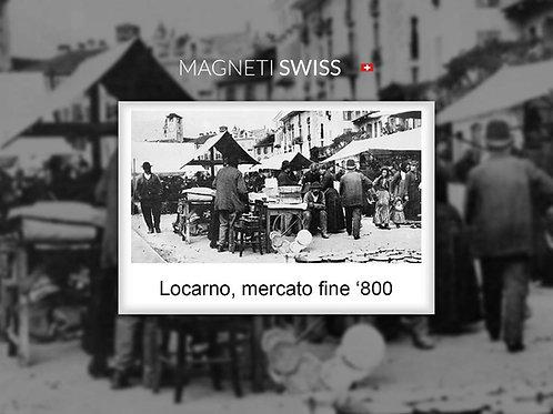 Locarno, mercato fine '800