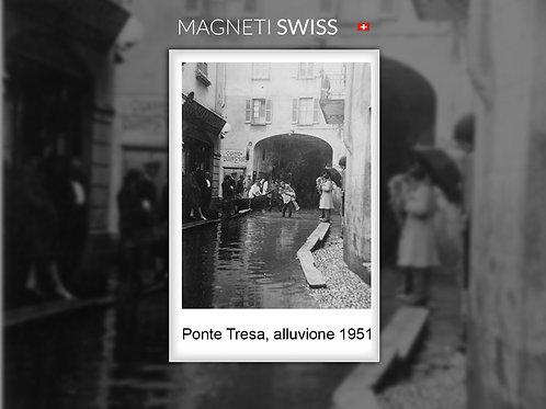 Ponte Tresa, alluvione 1951