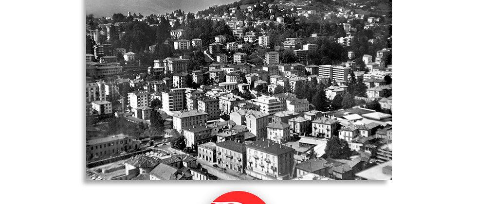 Lugano panorama anno 1955 c.a.