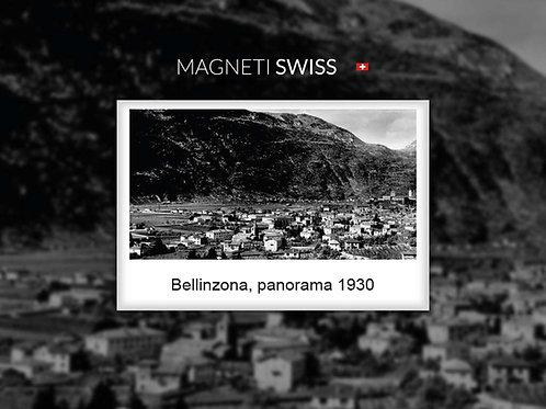 Bellinzona, panorama 1930