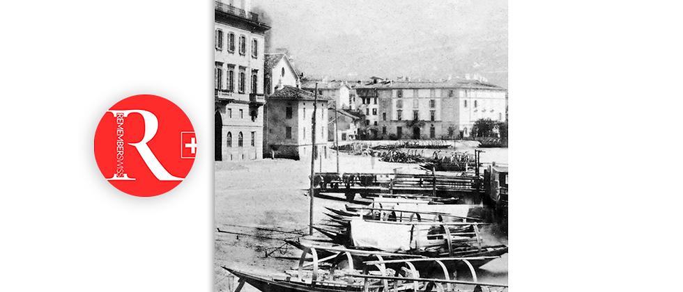 Lugano il porto anno 1868 c.a.
