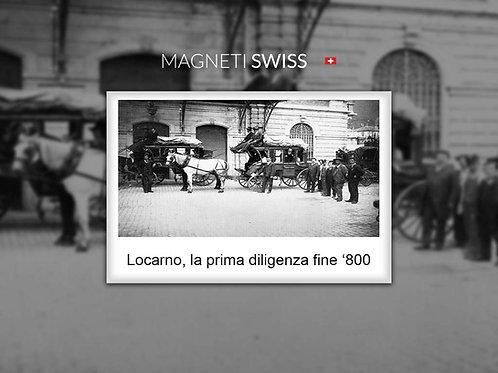 Locarno, la prima diligenza fine '800