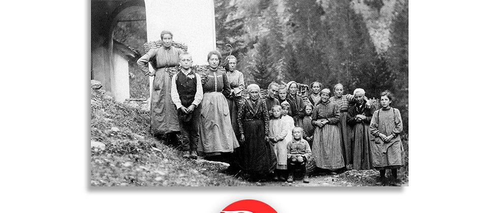 Olivone, gruppo di paese primi '900
