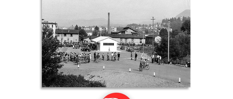 Chiasso apertura nuovo valico Brogeda anno 1959 c.a.