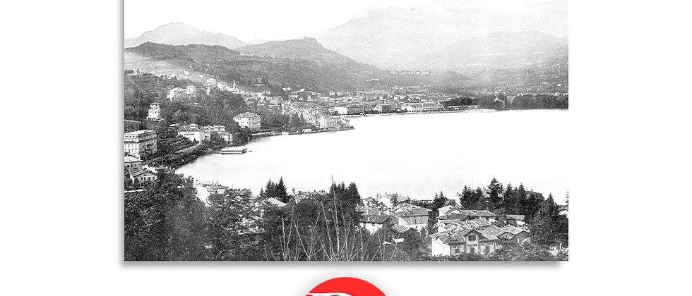 Lugano panorama anno 1890 c.a.