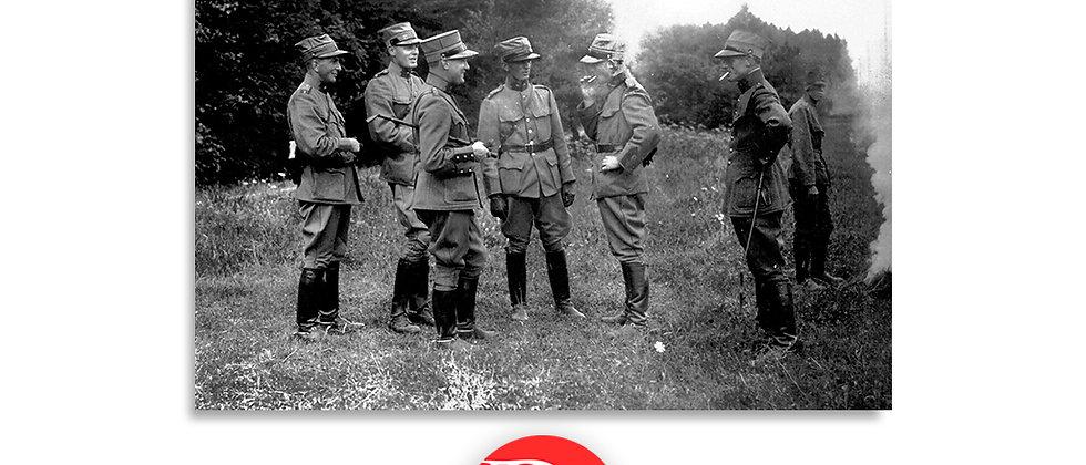 Gruppo di soldati anno 1928 c.a.