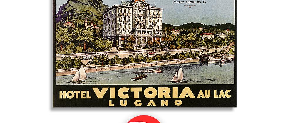 Hotel Victoria au lac, Lugano