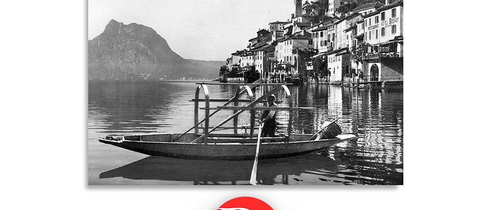 Lugano Gandria anno 1930 c.a.