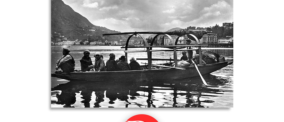 Lugano, primi trasporti sul lago primi '900