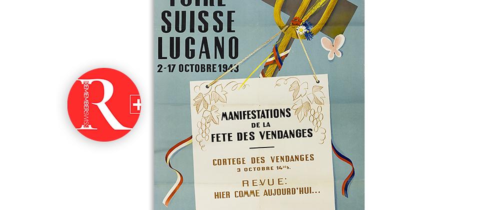 Festa della Vendemmia, Lugano 1943