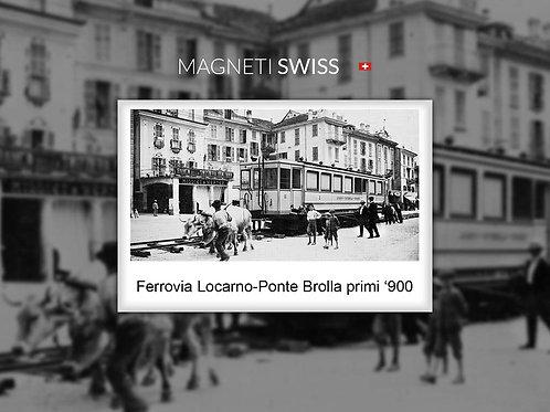 Ferrovia Locarno-Ponte Brolla primi '900