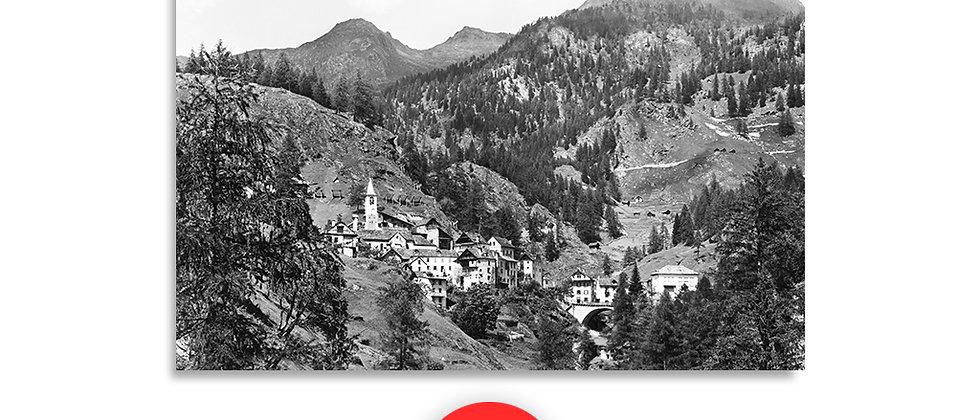 Fusio, Valle Maggia anno 1960 c.a.