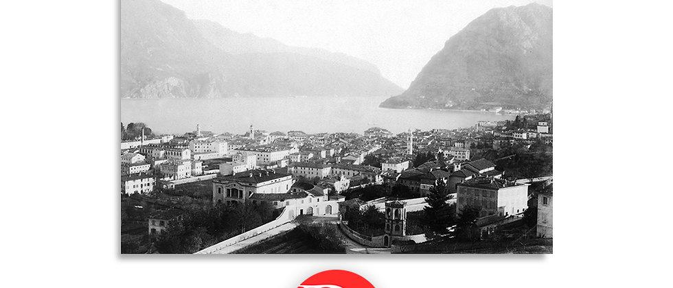 Lugano e monte S.Salvatore anno 1880 c.a.