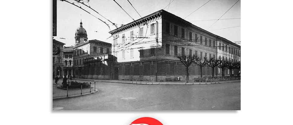 Lugano scuole,via Nizzola e corso Pestalozzi anno 1955 c.a.