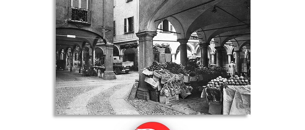 Lugano via Pessina anno 1940 c.a.