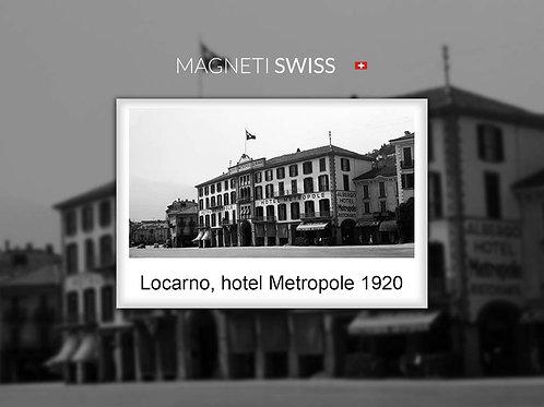Locarno, Hotel Metropole 1920
