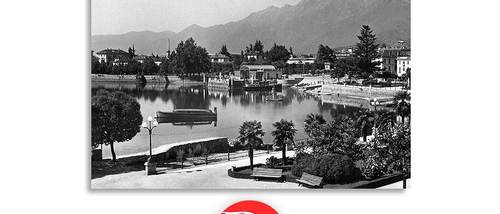 Locarno debarcadero anno 1935 c.a.