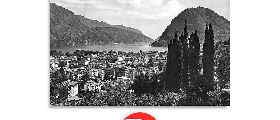Lugano panorama anno 1930 c.a.
