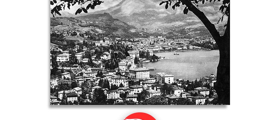 Lugano Paradiso panorama anno 1945 c.a.