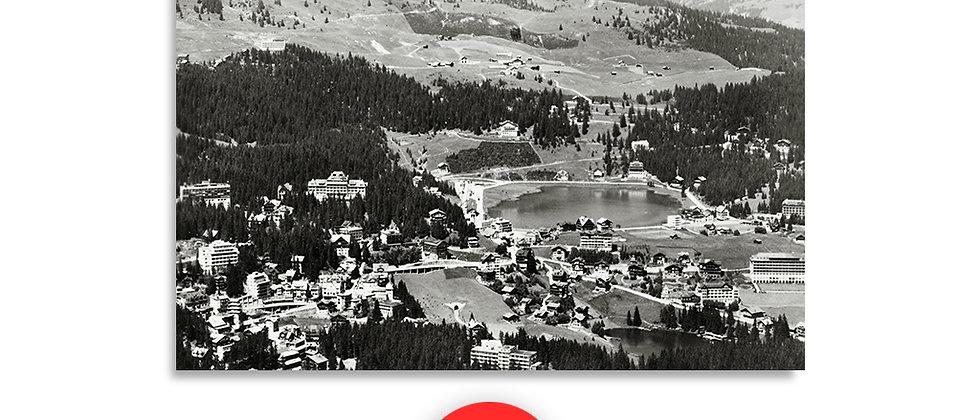 Arosa panorama anno 1949 c.a.