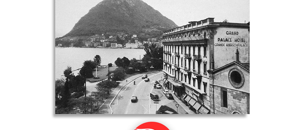 Lugano Hotel Palace anno 1960 c.a.