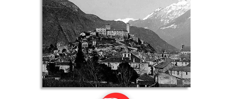 Bellinzona castello Uri da Ravecchia anno 1920 c.a.