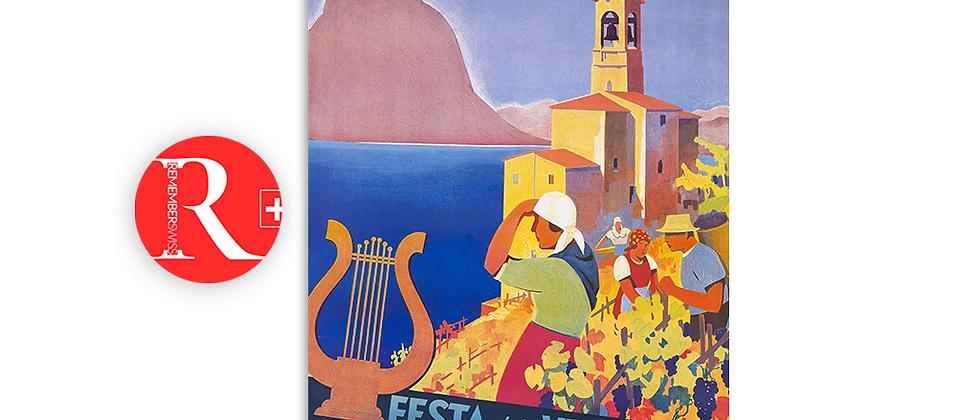 Festa della vendemmia, Castagnola - Lugano 1932