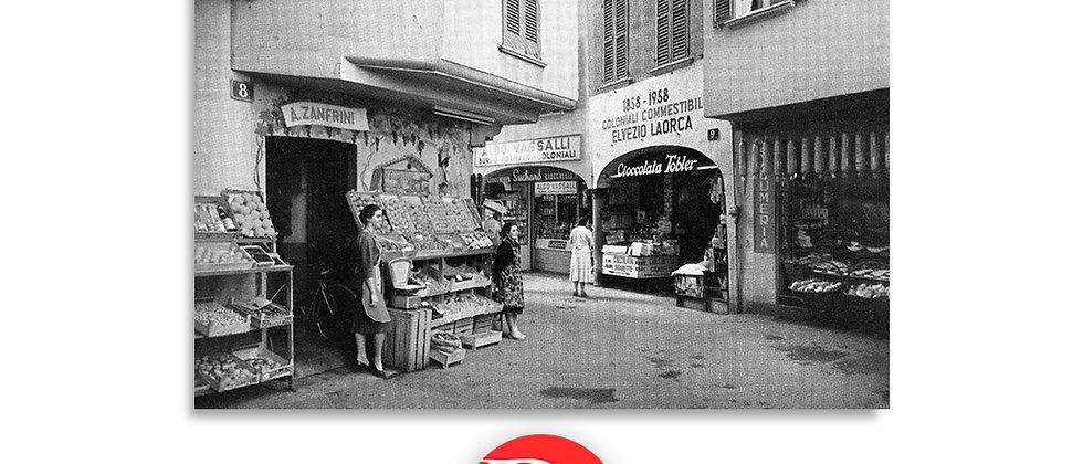 Lugano via Pessina anno 1960 c.a.