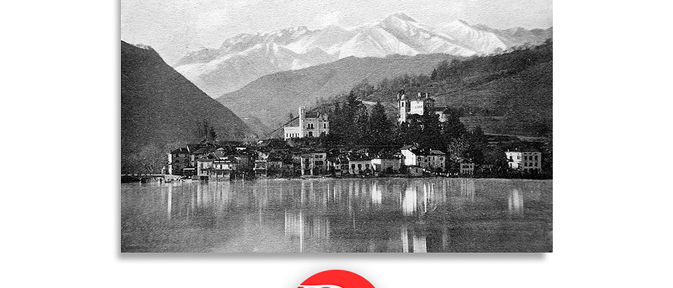 Ponte Tresa panorama anno 1909 c.a.