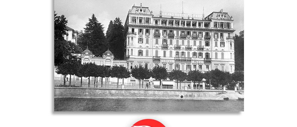 Lugano Hotel du Parc anno 1946 c.a.