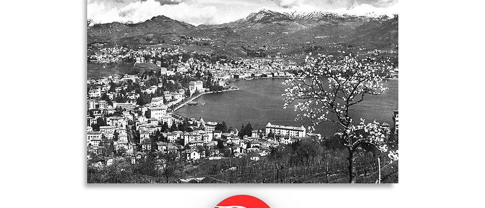 Lugano panorama anno 1950 c.a.