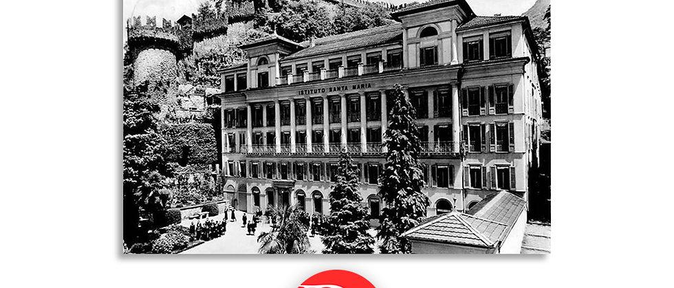 Bellinzona istituto S.Maria anno 1920 c.a.