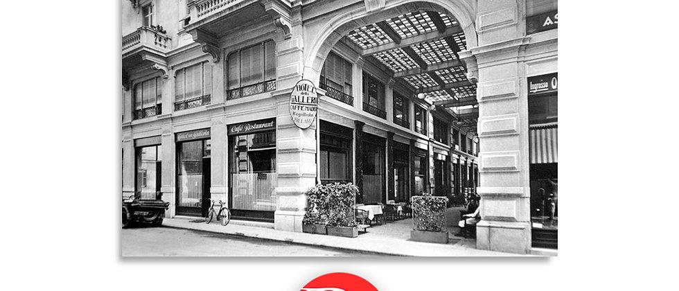 Lugano la Galleria anno 1940 c.a.
