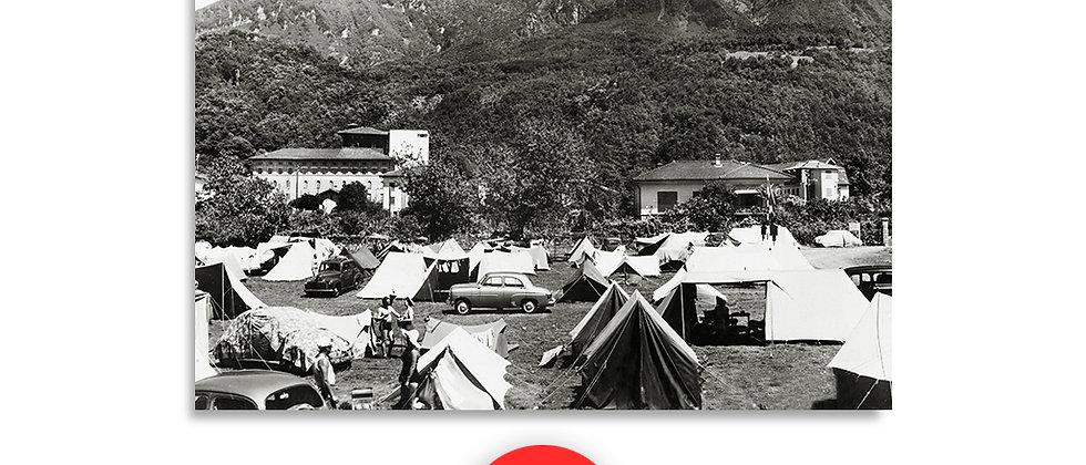 Maroggia camping anno 1950 c.a.