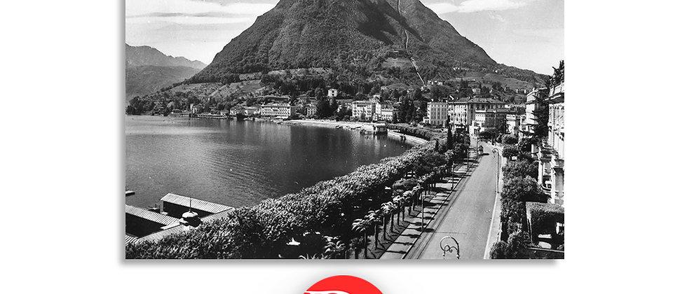 Lugano Paradiso lungolago anno 1945 c.a.