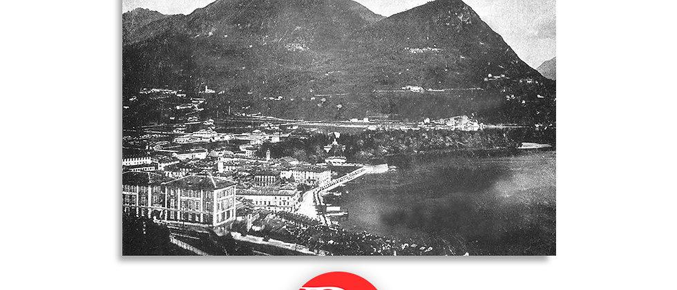 Lugano e monte Brè anno 1870 c.a.