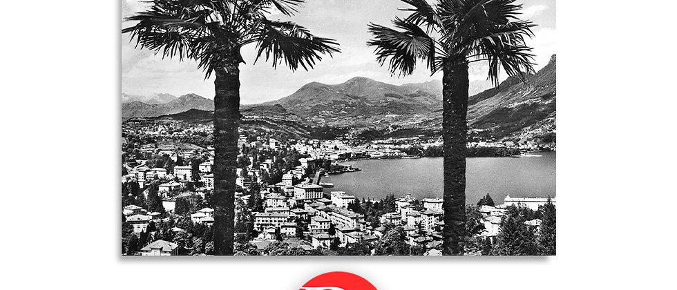 Lugano panorama anno 1940 c.a.