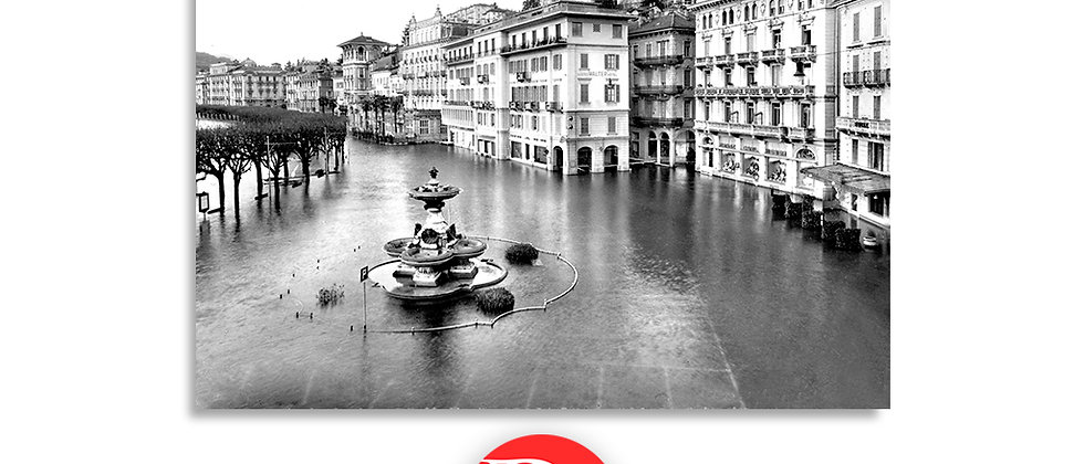 Lugano alluvione Novembre anno 1951