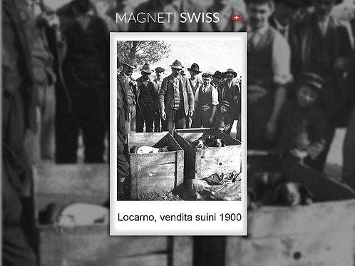 Locarno, vendita suini 1900