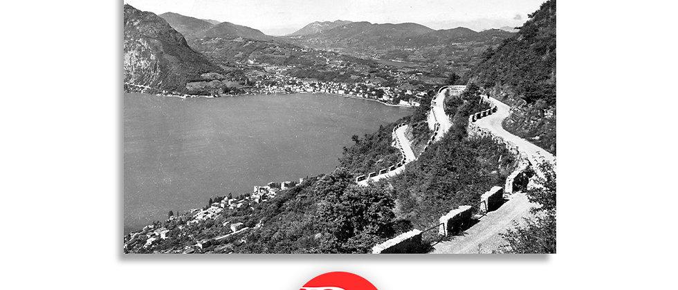 Strada sul monte Brè anno 1935 c.a.