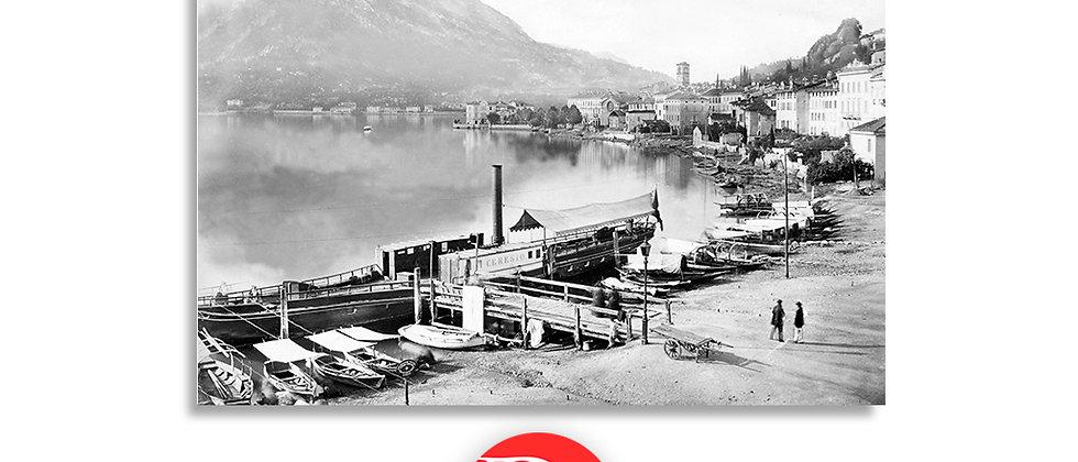 Lugano lungolago anno 1870 c.a.
