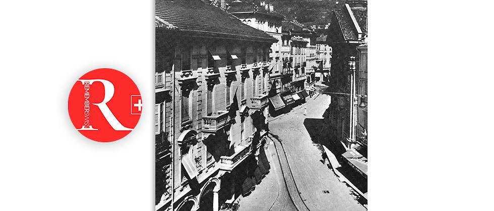 Lugano piazza Dante primi '900
